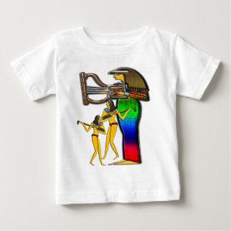 Digital pintada; Ropa temprana del egipcio dos Playera