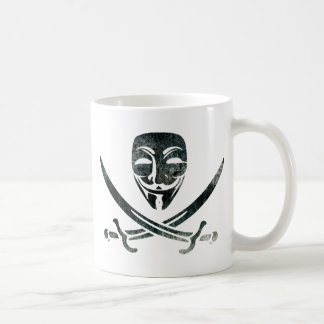 Digital Pirates Classic White Coffee Mug