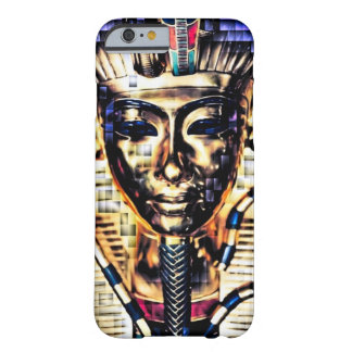 Digital Pixel Egyptian Pharaoh King Art Barely There iPhone 6 Case