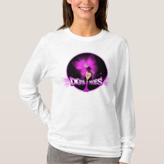 Digital Pixies Pink Pixie - Ladies AA Hoody Long S