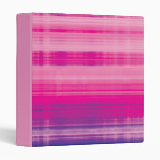 Digital Plaid Pink Purple Pattern Binder