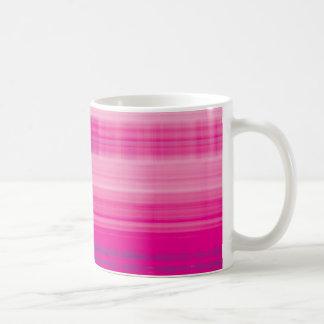 Digital Plaid Pink Purple Pattern Coffee Mug