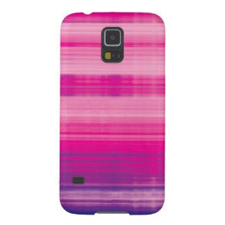Digital Plaid Pink Purple Pattern Galaxy S5 Case