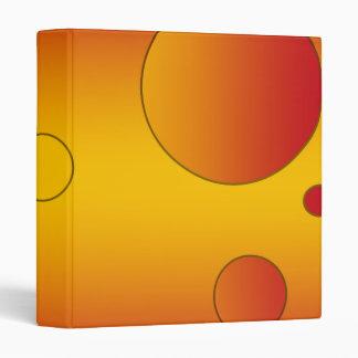 Digital Pop Art: Flag Colors of Spain Vinyl Binders