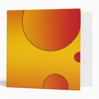 Digital Pop Art: Flag Colors of Spain 3 Ring Binder