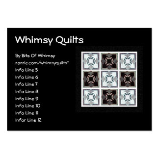Digital Quilt Large Business Cards (Pack Of 100)