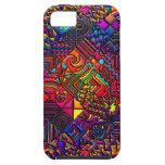 digital quilt modern retro iPhone SE/5/5s case