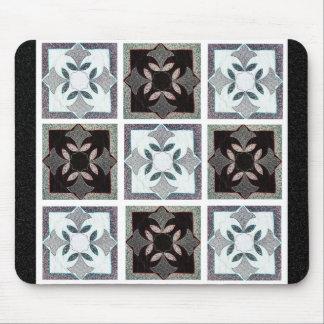 Digital Quilt Mouse Pad