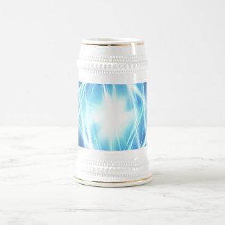 Digital Radial Colours Blur Glow Art Beautiful Des Beer Stein