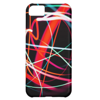 Digital Radial Colours Blur Glow Art Beautiful Des Case For iPhone 5C