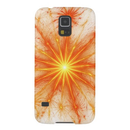 Digital Radial Colours Blur Glow Art Beautiful Des Samsung Galaxy Nexus Cover
