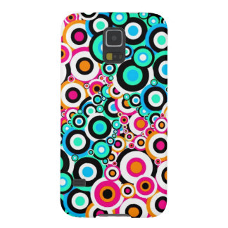Digital Radial Colours Blur Glow Art Beautiful Des Case For Galaxy S5