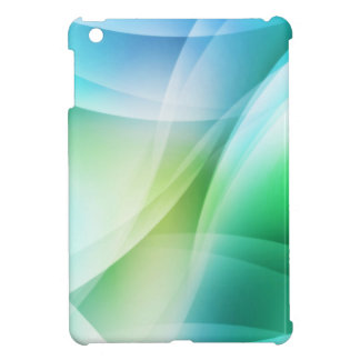 Digital Radial Colours Blur Glow Art Beautiful Des Case For The iPad Mini