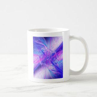 Digital Radial Colours Blur Glow Art Beautiful Des Coffee Mug