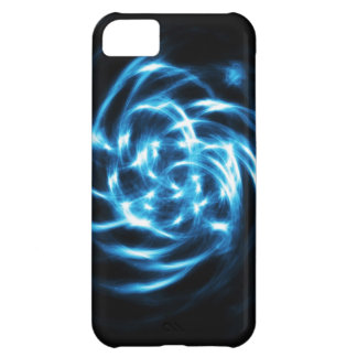 Digital Radial Colours Blur Glow Art Beautiful Des Cover For iPhone 5C