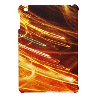 Digital Radial Colours Blur Glow Art Beautiful Des Cover For The iPad Mini