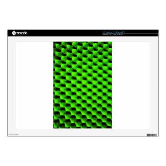"Digital Radial Colours Blur Glow Art Beautiful Des Decals For 17"" Laptops"