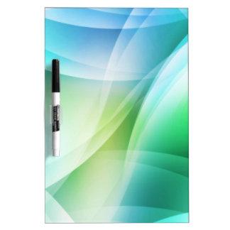 Digital Radial Colours Blur Glow Art Beautiful Des Dry Erase Board
