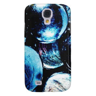 Digital Radial Colours Blur Glow Art Beautiful Des Galaxy S4 Case