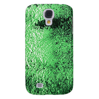 Digital Radial Colours Blur Glow Art Beautiful Des Galaxy S4 Cover