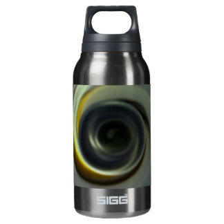 Digital Radial Colours Blur Glow Art Beautiful Des Insulated Water Bottle