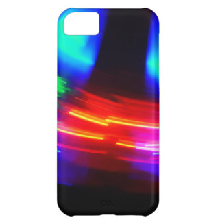 Digital Radial Colours Blur Glow Art Beautiful Des iPhone 5C Cases