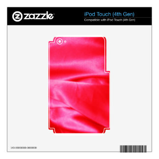 Digital Radial Colours Blur Glow Art Beautiful Des iPod Touch 4G Skin