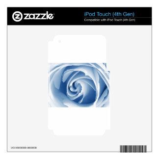 Digital Radial Colours Blur Glow Art Beautiful Des iPod Touch 4G Skins