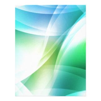 Digital Radial Colours Blur Glow Art Beautiful Des Letterhead