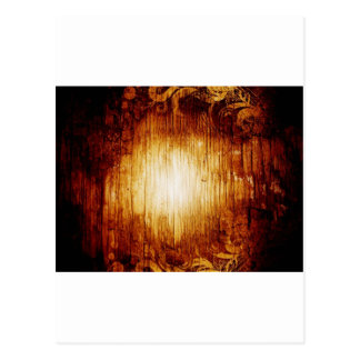 Digital Radial Colours Blur Glow Art Beautiful Des Postcard