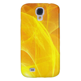 Digital Radial Colours Blur Glow Art Beautiful Des Samsung Galaxy S4 Case