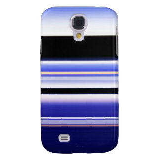 Digital Radial Colours Blur Glow Art Beautiful Des Samsung Galaxy S4 Cover