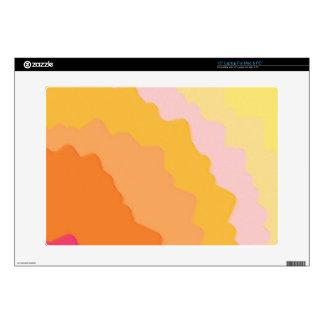 Digital Radial Colours Blur Glow Art Beautiful Des Decals For Laptops