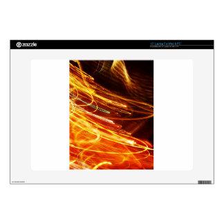 Digital Radial Colours Blur Glow Art Beautiful Des Laptop Decal