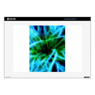 "Digital Radial Colours Blur Glow Art Beautiful Des 15"" Laptop Decal"