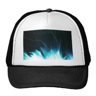 Digital Radial Colours Blur Glow Art Beautiful Des Trucker Hat