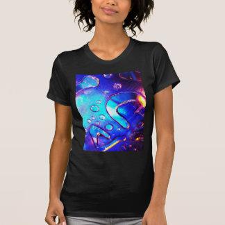 Digital Radial Colours Blur Glow Art Beautiful Des T-shirt
