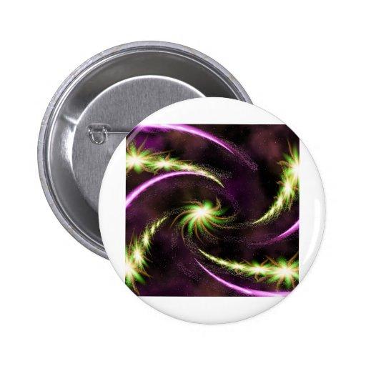 Digital Radial Colours Blur GlowArt Beautiful Desi Buttons