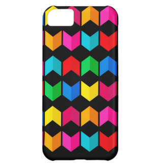Digital Radial Colours Blur GlowArt Beautiful Desi Case For iPhone 5C