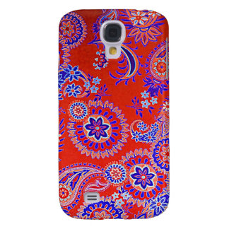 Digital Radial Colours Blur GlowArt Beautiful Desi Samsung Galaxy S4 Cover