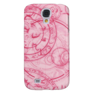 Digital Radial Colours Blur GlowArt Beautiful Desi Samsung S4 Case