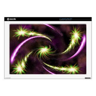 Digital Radial Colours Blur GlowArt Beautiful Desi Skin For Laptop