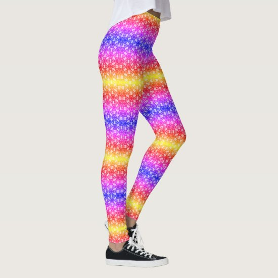 Digital Rainbow Design Wardrobe Upgrade Cool  Leggings