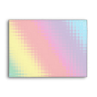 Digital Rainbow Lines Envelopes