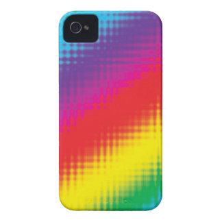 Digital Rainbow Lines iPhone 4 Case