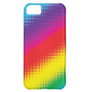 Digital Rainbow Lines iPhone 5C Case