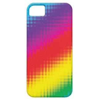 Digital Rainbow Lines iPhone SE/5/5s Case