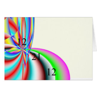 Digital Rainbow Postcard
