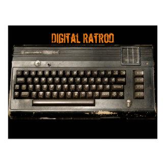 Digital Ratrod Postcard