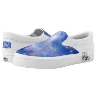Digital Realism - BLUE UNIVERSE + your ideas Printed Shoes